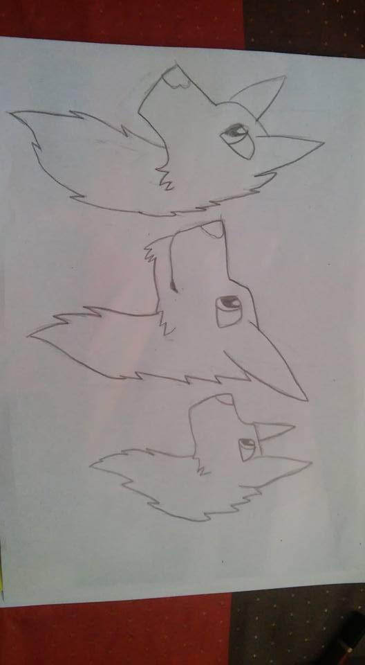 Wilki/wolves by FlameNelson