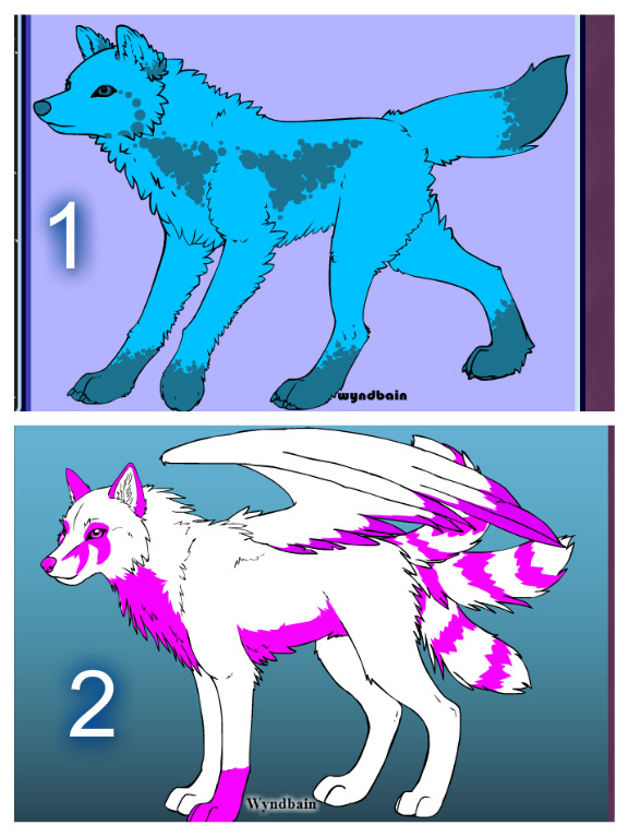 Wolf adopts (OPEN) by FlameNelson