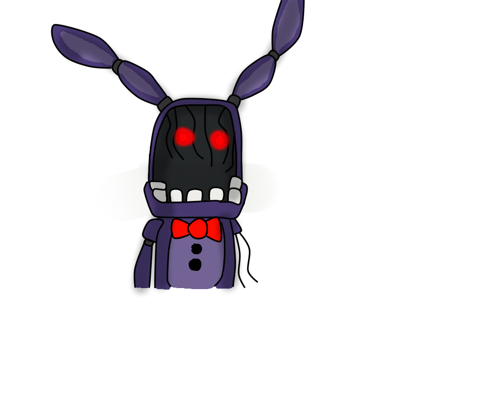 Withered Bonnie by FlameNelson