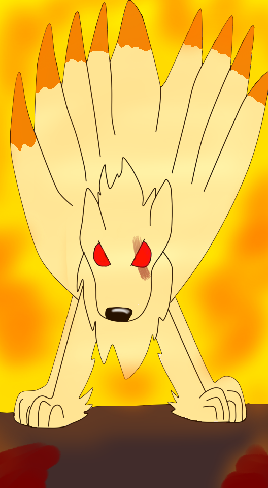 Don't mess with the ninetales! by FlameNelson