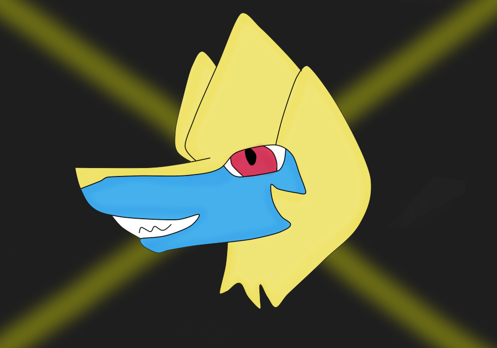 Manectric by FlameNelson