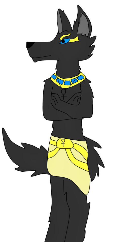 Anubis by FlameNelson