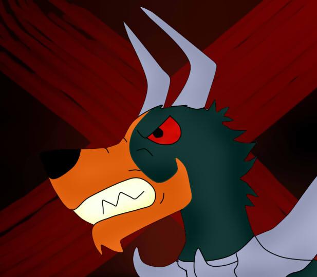 Mega Houndoom Is Angry by FlameNelson