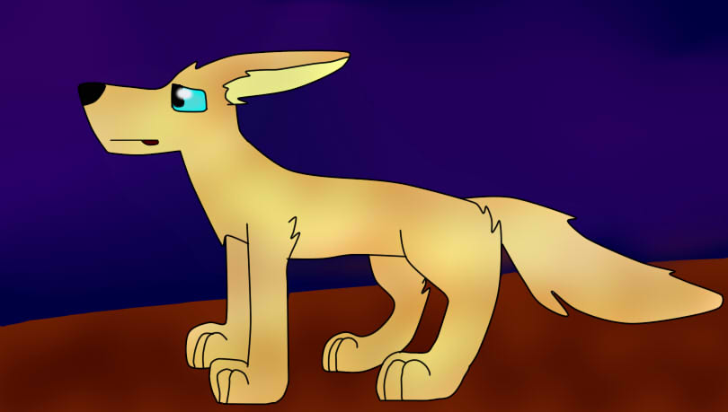 Fennec fox by FlameNelson