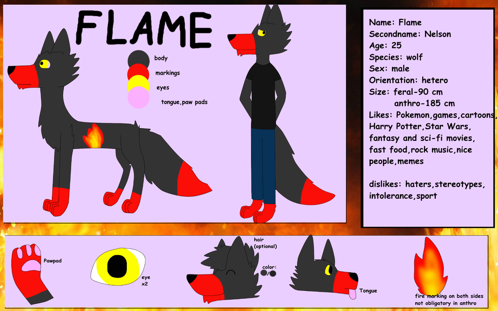 Flame ref by FlameNelson