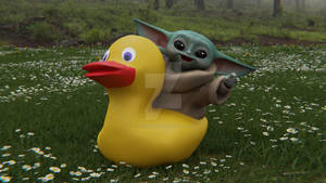 Grogu Duck1 Web