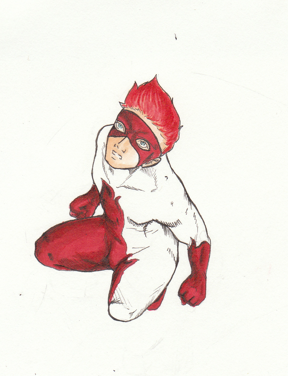 Copic Red Hot by minipyro