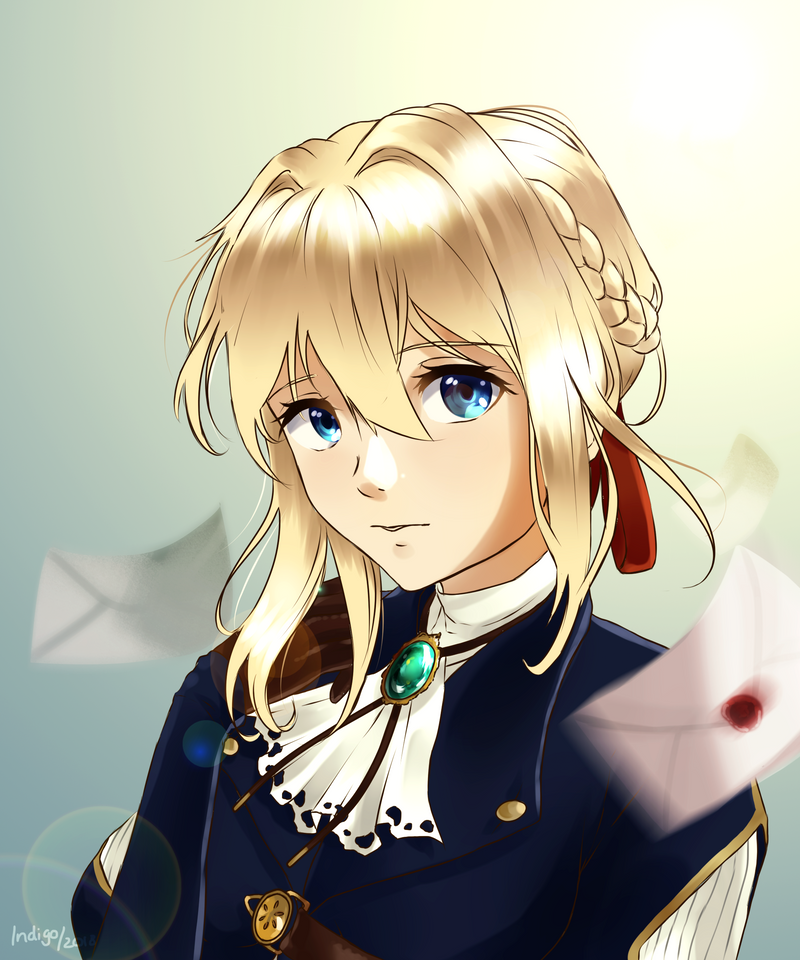 Violet Evergarden By Kamuiji On DeviantArt