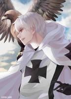 Hetalia - Prussia - Teutonic Knights by kamuiji