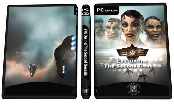 EVE DVD Box Art