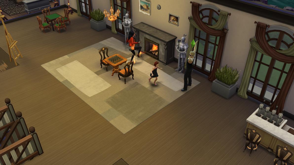 Burning Sim by shevakitty