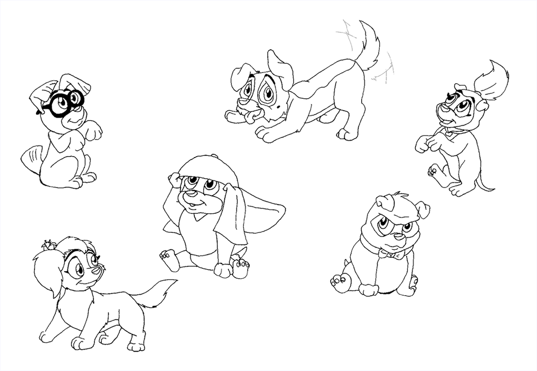 Coloring Pages All Dogs Go To Heaven Coloring Pages all dogs go to heaven 2 coloring pages google twit dog cooloring