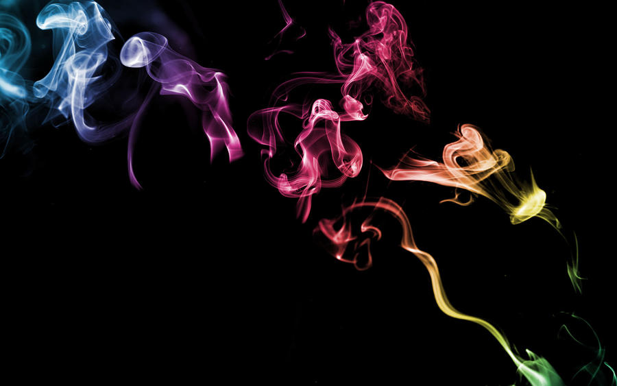 Blue Black Smoke Background Black Background Smoke by
