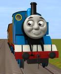 Thomas Pulling Annie And Clarabel (CGI Styled)