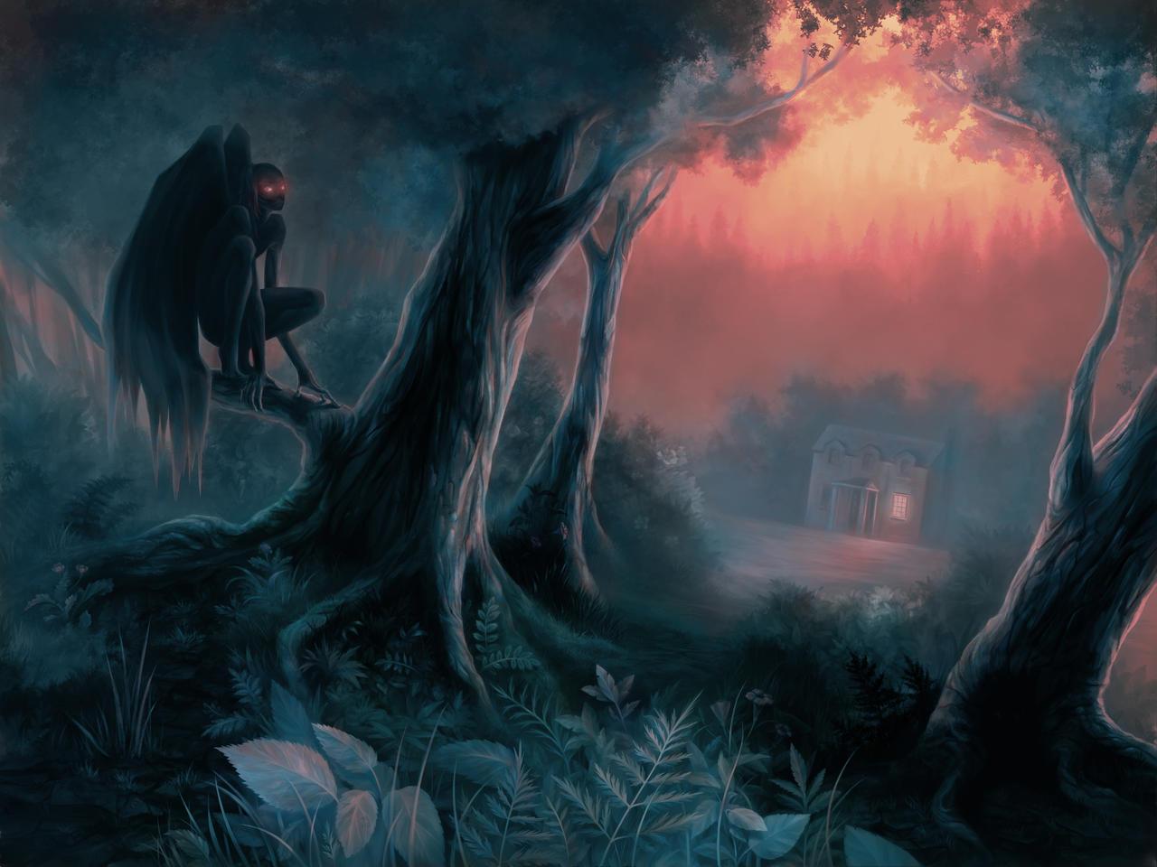 ночной демон фото