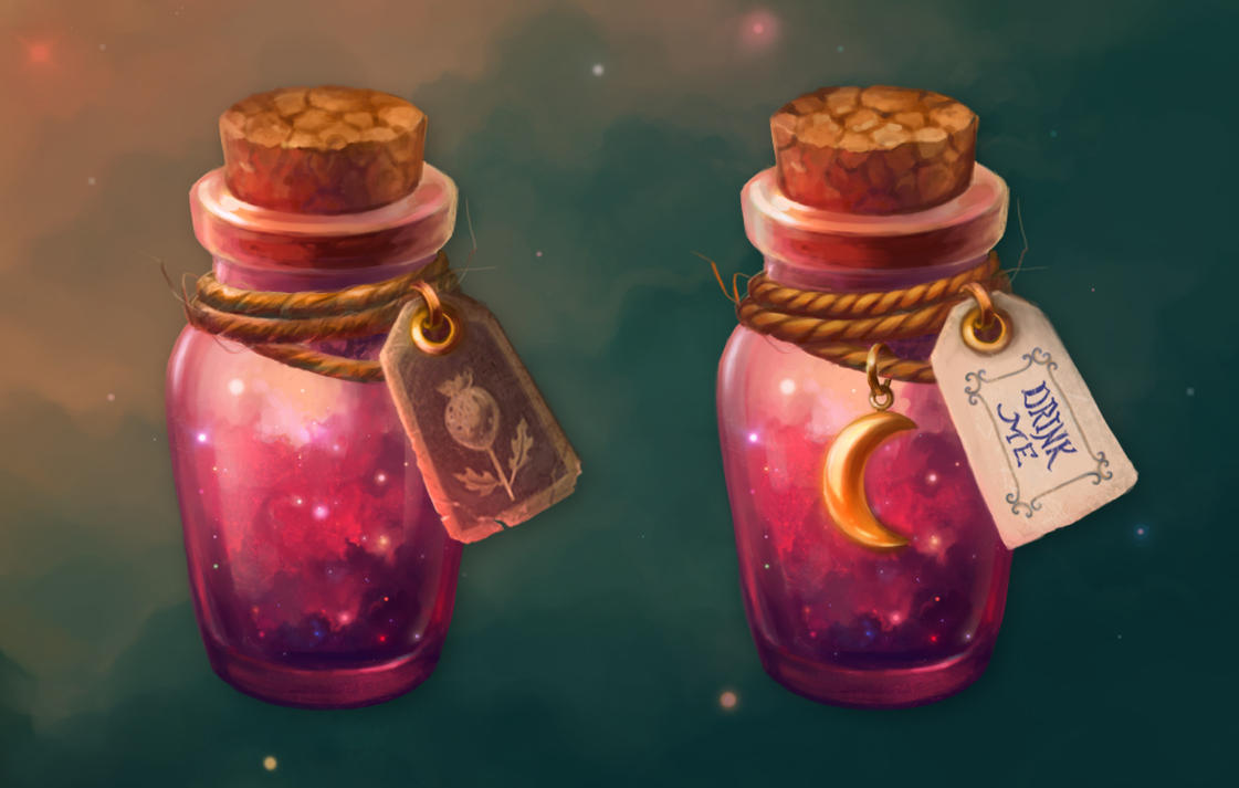 Magic jars by Fiction69