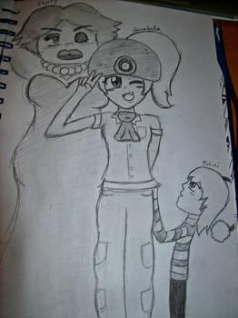 Paper Mario Girls