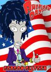 Roger as Reaganomics Lamboghini