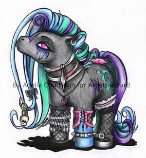 Goth Pony for ArtistHazzard