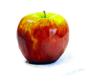 Oh look, an apple. Riveting.