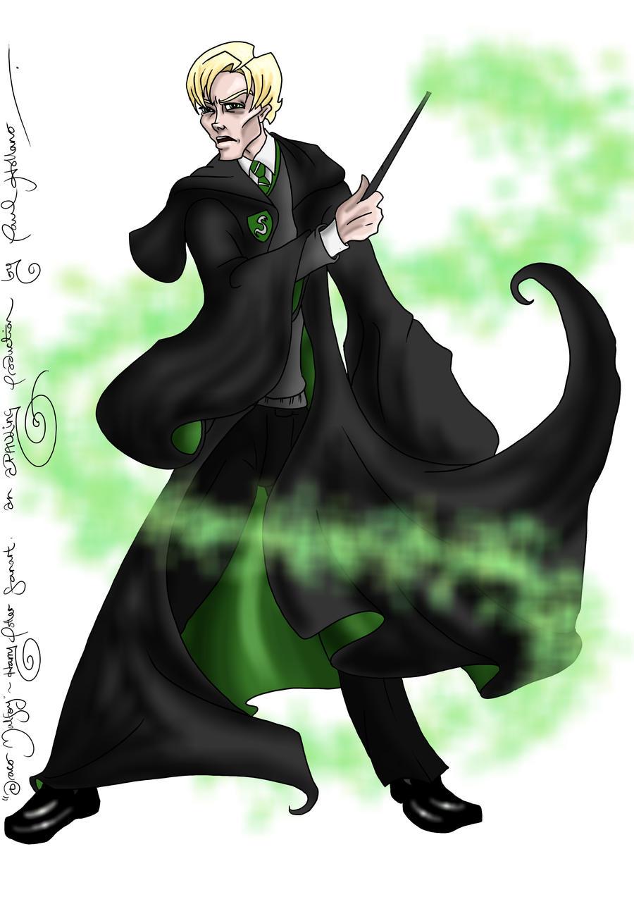 Draco Malfoy by hollano