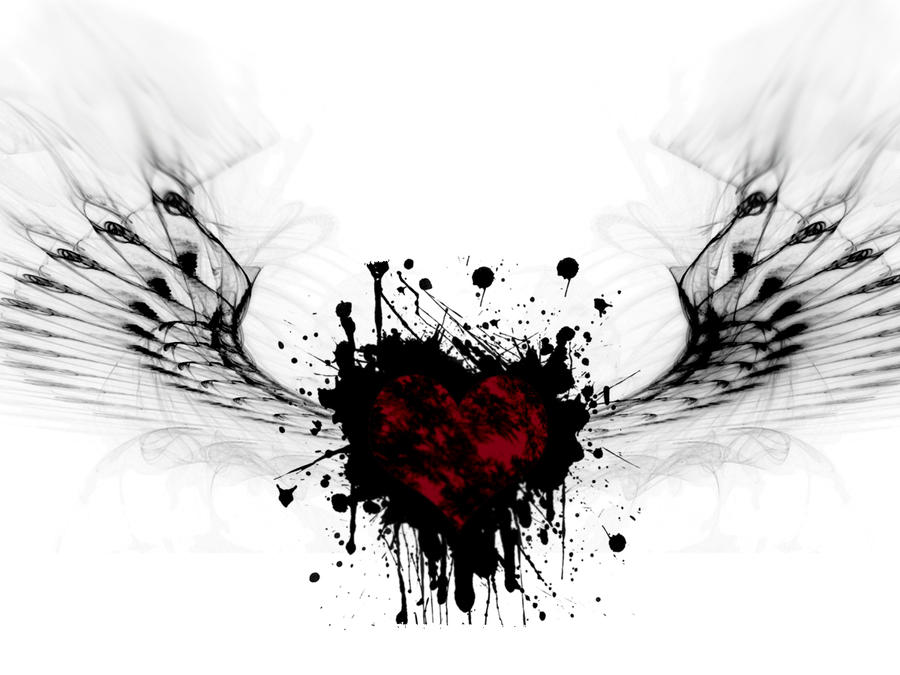 winged heart by cyther...