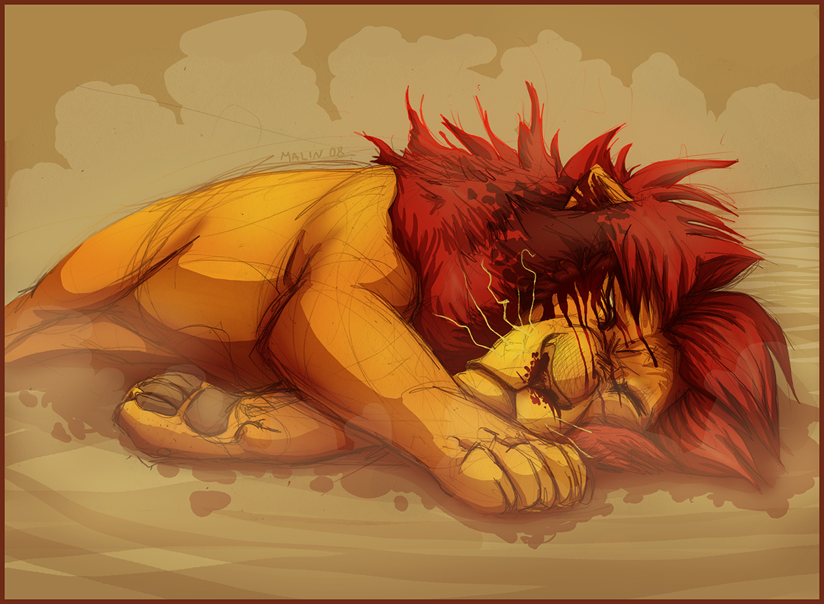 .Mufasa. by tigon