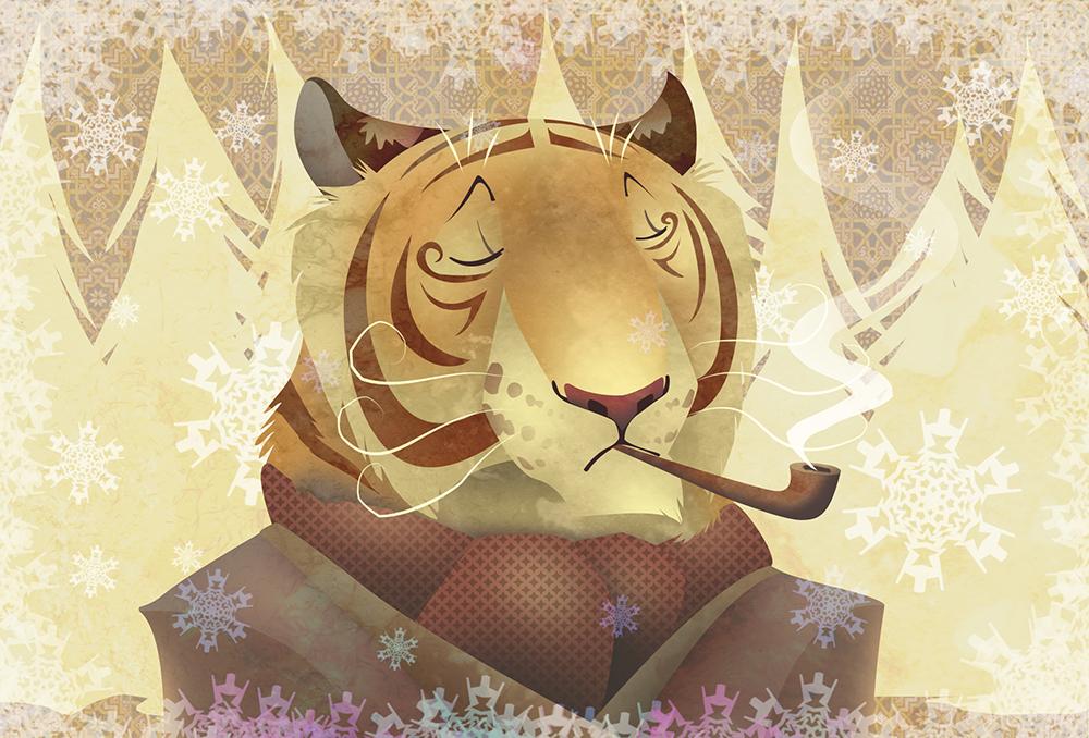 Winter Tiger by tigon