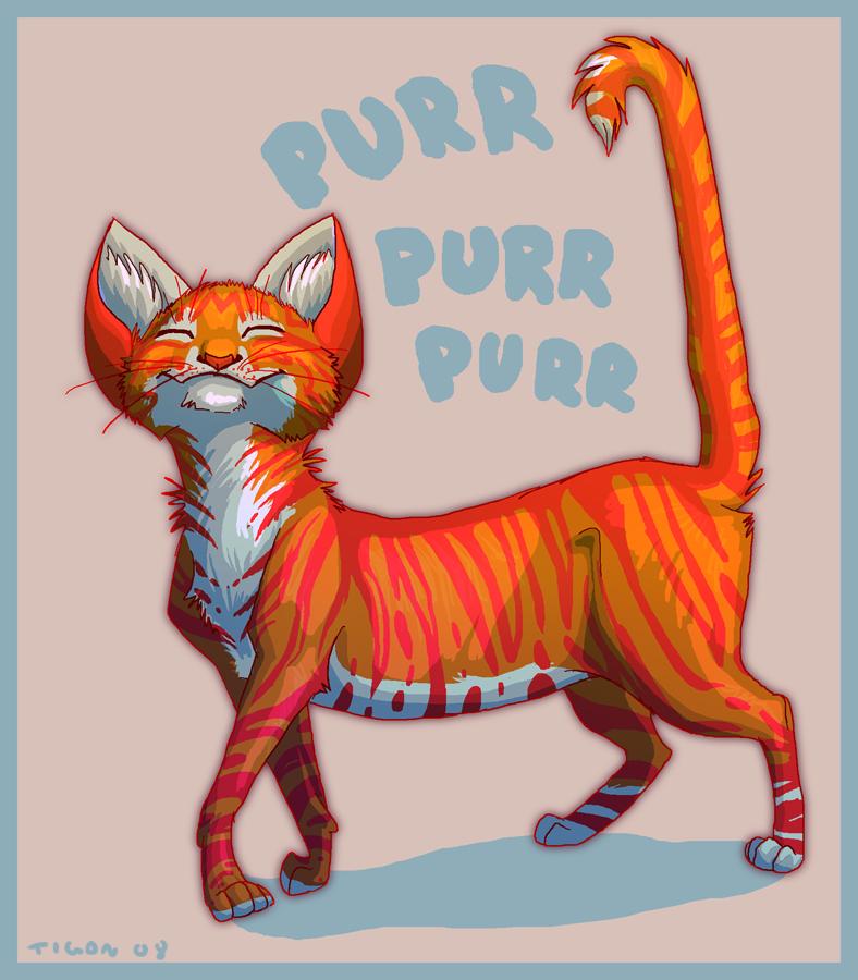 Purr purr by tigon