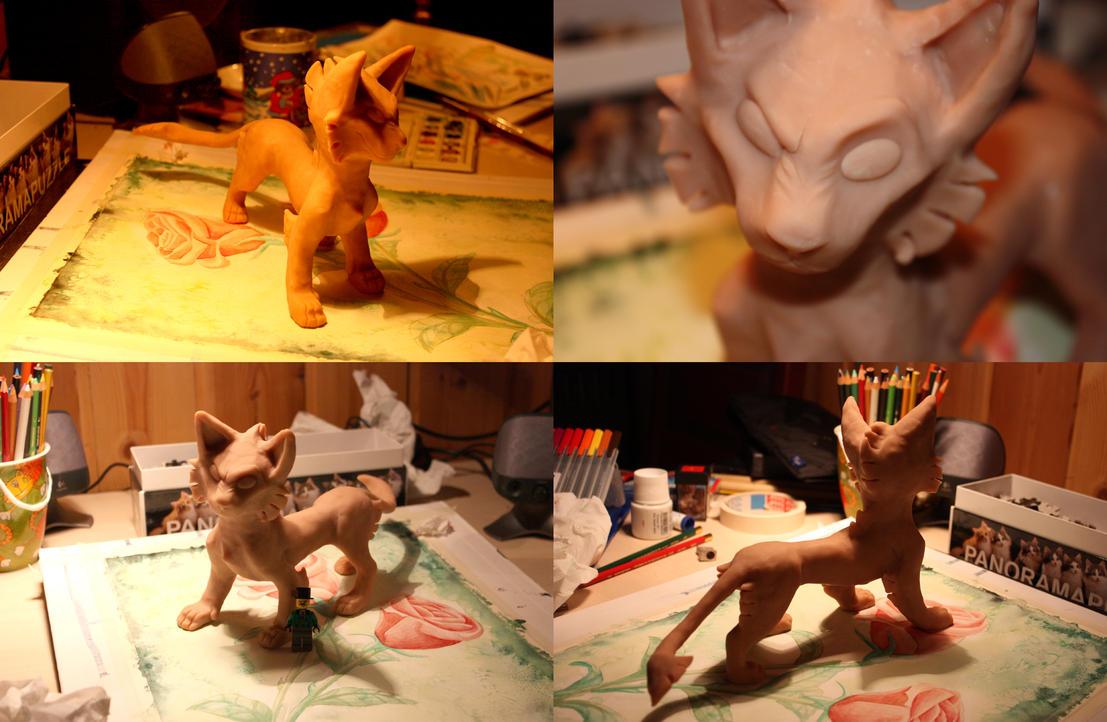 Super Sculpey Tigon by tigon