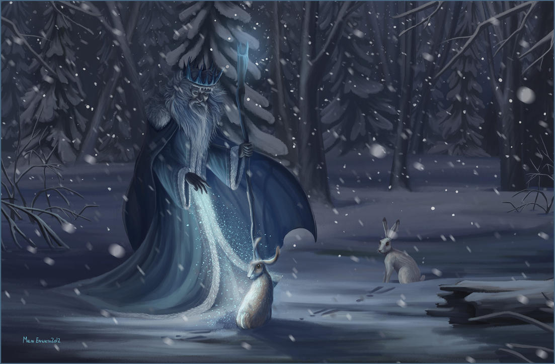Blessed Yule Facebook Cover