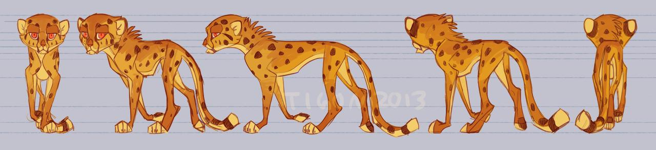 Cheetah Sheetah by tigon