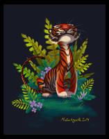 Happy Tiger by tigon