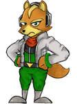 Fox McCloud by Mattex91