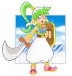 Asha in Monster World