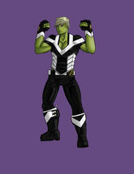 Hulkling - Redesign by jelloconcoction