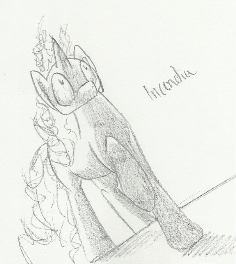 Fan Art - Incendia by IceOfWaterflock