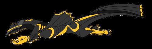 Winged Beau by IceOfWaterflock