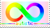 Autistic Stamp by IceOfWaterflock