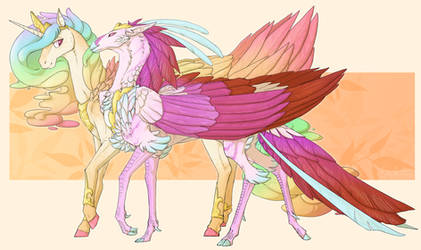 birds of a feather by IceOfWaterflock