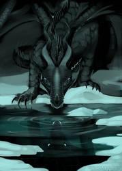the darkstalker by IceOfWaterflock