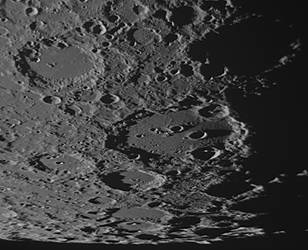 Clavius crater on Aug 23 morning