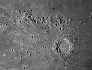 Copernicus and environs on Aug 23 morning