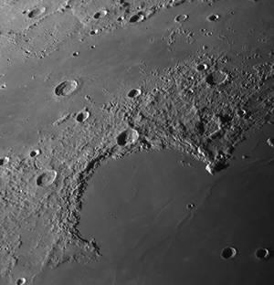 Mare Iridum on Aug 24 morning