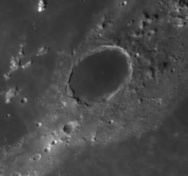 529Plato crater on Sept 19