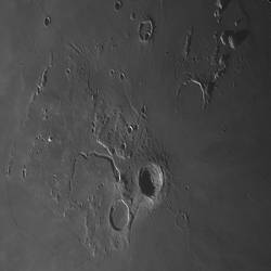 Aristarchus crater on Sept 24 morning