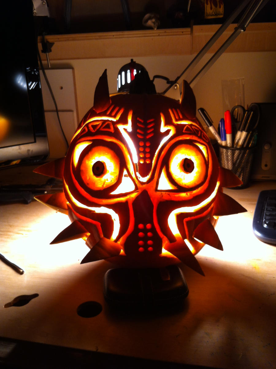 Majora's pumpkin by Litessa