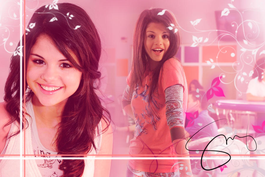 Selena Gomez - Wallpaper by Geandro21 on DeviantArt