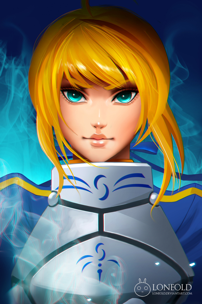 Saber by LoneOld