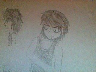 Manga guy i drew... by SketchtheArtist88